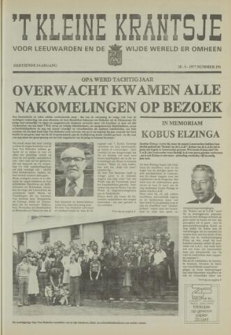 't Kleine Krantsje, 1964-1997 1977-05-28