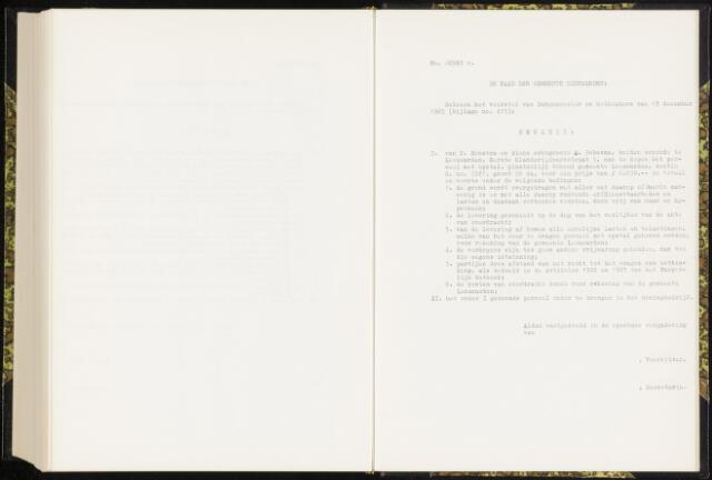 Raadsverslagen van de gemeente Leeuwarden, 1865-2007 (Schriftelijke vragen) 1965