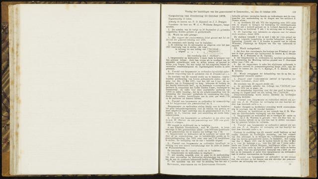 Raadsverslagen van de gemeente Leeuwarden, 1865-2007 (Notulen) 1878-10-10