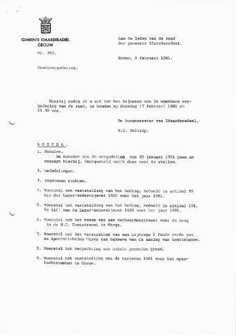 raadsverslagen Idaarderadeel 1935-1983 1981-02-17