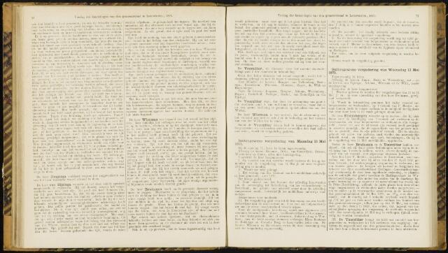 Raadsverslagen van de gemeente Leeuwarden, 1865-2007 (Notulen) 1871-05-15
