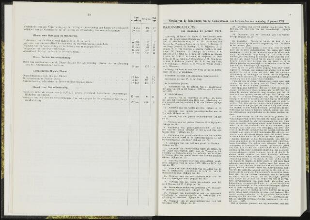 Raadsverslagen van de gemeente Leeuwarden, 1865-2007 (Notulen) 1971