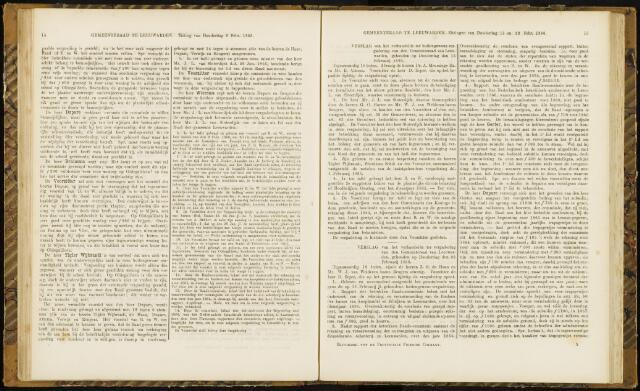 Raadsverslagen van de gemeente Leeuwarden, 1865-2007 (Notulen) 1866-02-15
