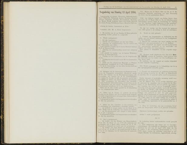Raadsverslagen van de gemeente Leeuwarden, 1865-2007 (Notulen) 1904-04-12