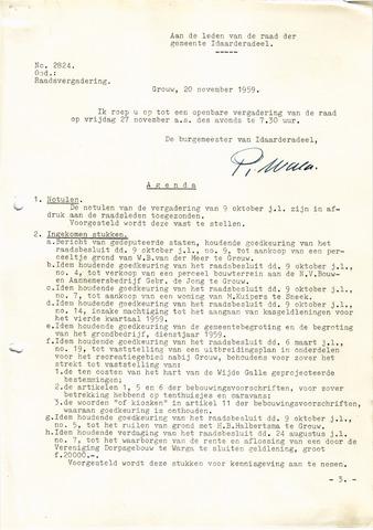 raadsverslagen Idaarderadeel 1935-1983 1959-11-27