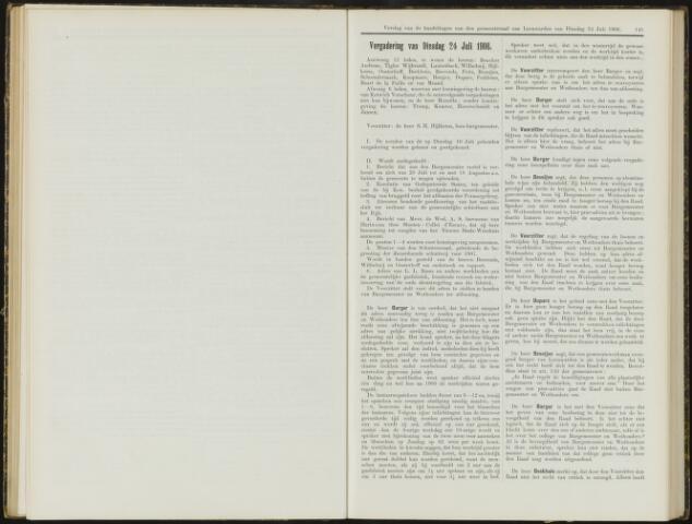 Raadsverslagen van de gemeente Leeuwarden, 1865-2007 (Notulen) 1906-07-24