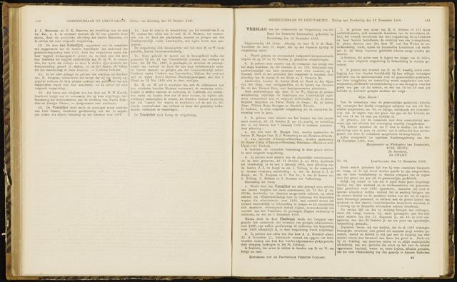 Raadsverslagen van de gemeente Leeuwarden, 1865-2007 (Notulen) 1868-11-12
