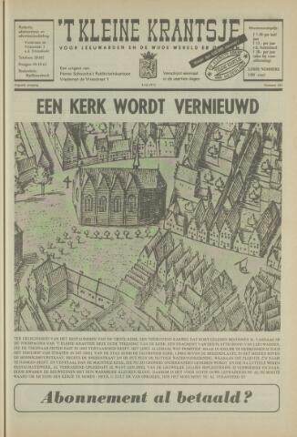 't Kleine Krantsje, 1964-1997 1972-12-02