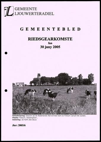 Notulen van de gemeenteraad van Leeuwarderadeel 2005-06-30