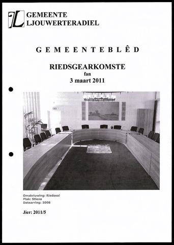 Notulen van de gemeenteraad van Leeuwarderadeel 2011-03-03