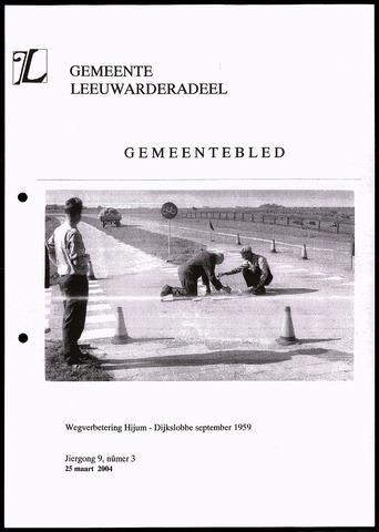 Notulen van de gemeenteraad van Leeuwarderadeel 2004-03-25
