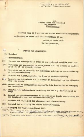 raadsverslagen Idaarderadeel 1935-1983 1938-03-28