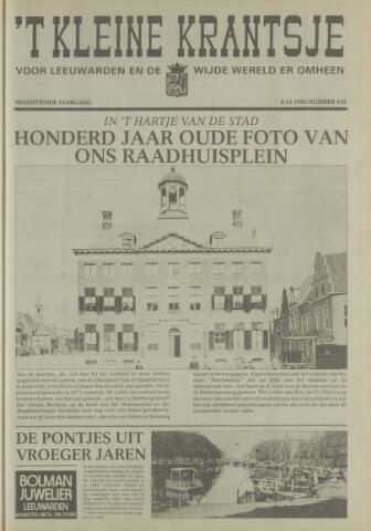 't Kleine Krantsje, 1964-1997 1982-11-06