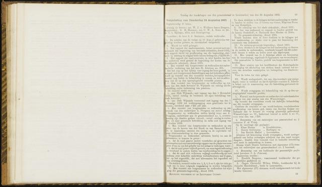 Raadsverslagen van de gemeente Leeuwarden, 1865-2007 (Notulen) 1882-08-24