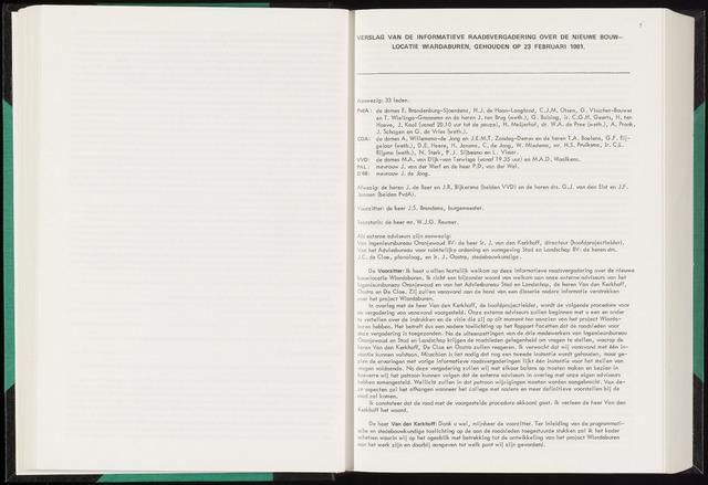 Raadsverslagen van de gemeente Leeuwarden, 1865-2007 (Notulen) 1981-02-23