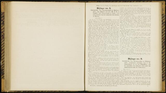 Raadsverslagen van de gemeente Leeuwarden, 1865-2007 (Bijlagen) 1871-01-01