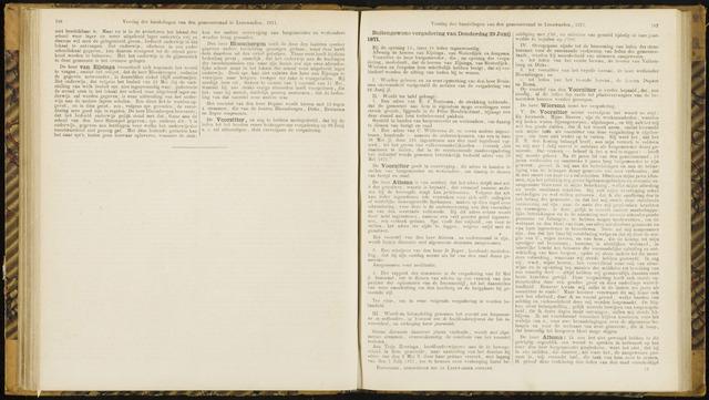 Raadsverslagen van de gemeente Leeuwarden, 1865-2007 (Notulen) 1871-06-29