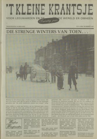 't Kleine Krantsje, 1964-1997 1984-01-21