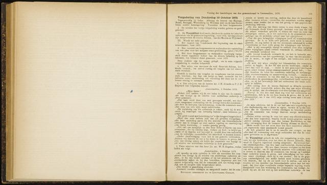 Raadsverslagen van de gemeente Leeuwarden, 1865-2007 (Notulen) 1872-10-10