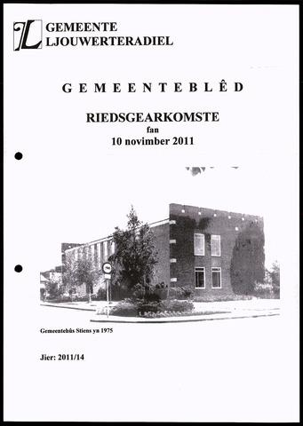 Notulen van de gemeenteraad van Leeuwarderadeel 2011-11-10