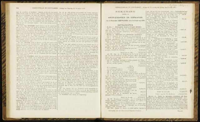 Raadsverslagen van de gemeente Leeuwarden, 1865-2007 (Bijlagen) 1867-01-01