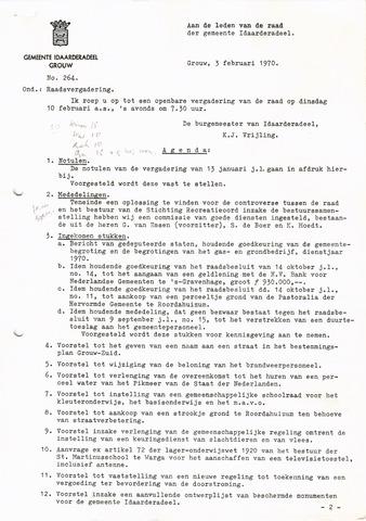 raadsverslagen Idaarderadeel 1935-1983 1970-02-10