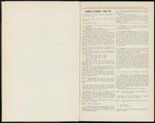 Raadsverslagen van de gemeente Leeuwarden, 1865-2007 (Notulen) 1938