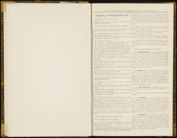 Raadsverslagen van de gemeente Leeuwarden, 1865-2007 (Notulen) 1887-03-08