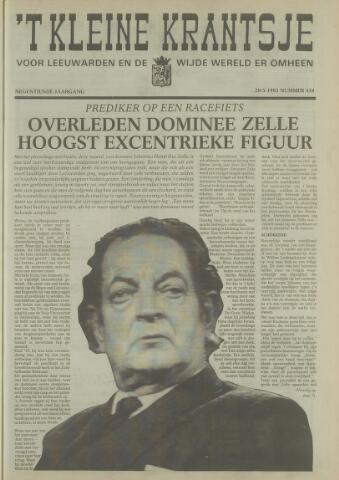 't Kleine Krantsje, 1964-1997 1983-05-28