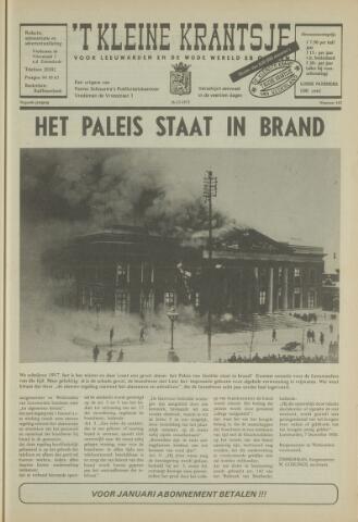 't Kleine Krantsje, 1964-1997 1972-12-16