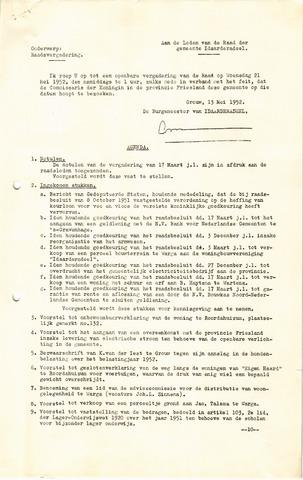 raadsverslagen Idaarderadeel 1935-1983 1952-05-21
