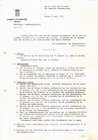 raadsverslagen Idaarderadeel 1935-1983 1973-03-13