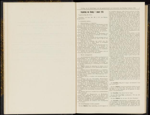 Raadsverslagen van de gemeente Leeuwarden, 1865-2007 (Notulen) 1930