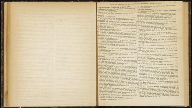 Raadsverslagen van de gemeente Leeuwarden, 1865-2007 (Notulen) 1873-04-24