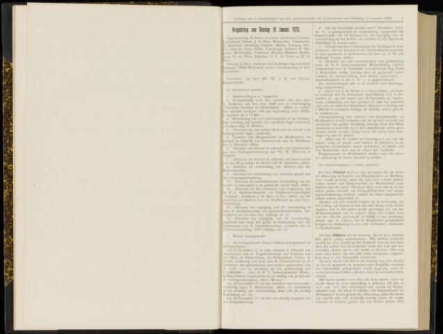 Raadsverslagen van de gemeente Leeuwarden, 1865-2007 (Notulen) 1928