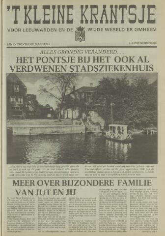 't Kleine Krantsje, 1964-1997 1985-03-02