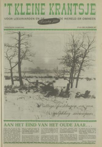 't Kleine Krantsje, 1964-1997 1983-12-17