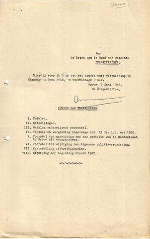 raadsverslagen Idaarderadeel 1935-1983 1948-06-14