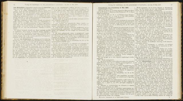 Raadsverslagen van de gemeente Leeuwarden, 1865-2007 (Notulen) 1880-05-27