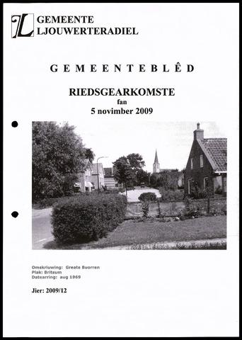 Notulen van de gemeenteraad van Leeuwarderadeel 2009-11-05