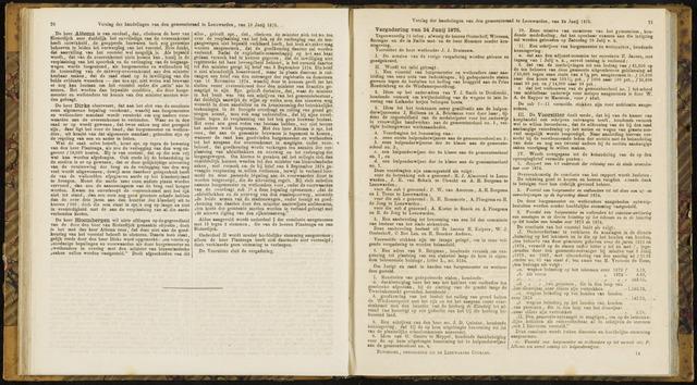 Raadsverslagen van de gemeente Leeuwarden, 1865-2007 (Notulen) 1875-06-24