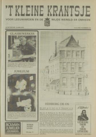 't Kleine Krantsje, 1964-1997 1982-06-11