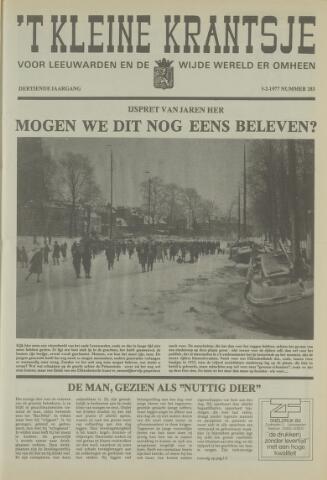 't Kleine Krantsje, 1964-1997 1977-02-05