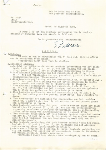raadsverslagen Idaarderadeel 1935-1983 1959-08-24