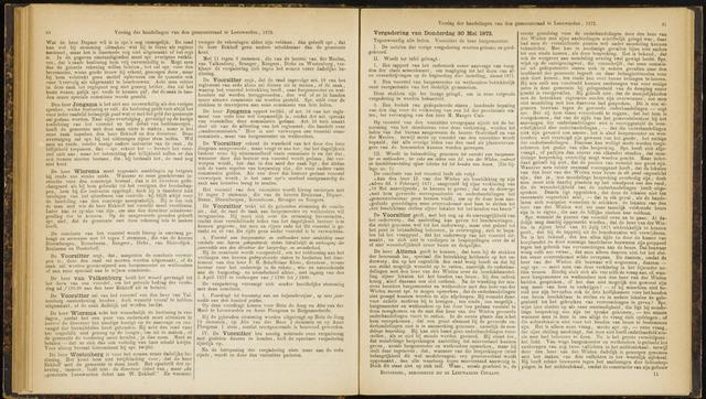 Raadsverslagen van de gemeente Leeuwarden, 1865-2007 (Notulen) 1872-05-30