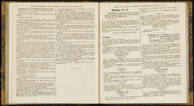 Raadsverslagen van de gemeente Leeuwarden, 1865-2007 (Bijlagen) 1875-01-01