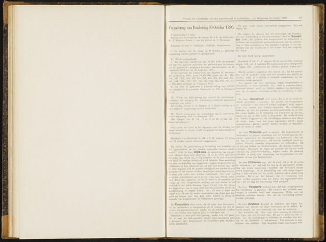 Raadsverslagen van de gemeente Leeuwarden, 1865-2007 (Notulen) 1890-10-30