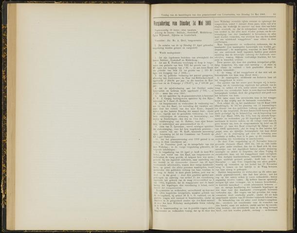 Raadsverslagen van de gemeente Leeuwarden, 1865-2007 (Notulen) 1901-05-14