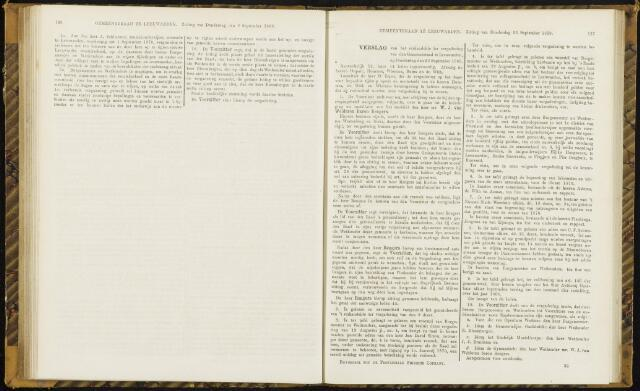 Raadsverslagen van de gemeente Leeuwarden, 1865-2007 (Notulen) 1869-09-23