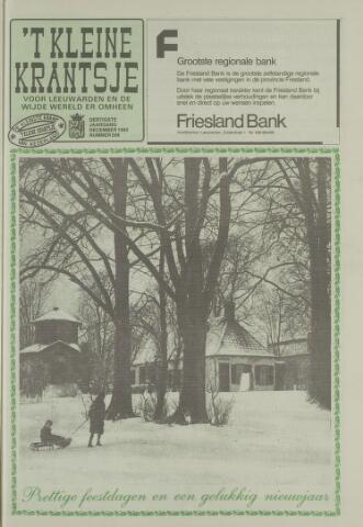 't Kleine Krantsje, 1964-1997 1993-12-01